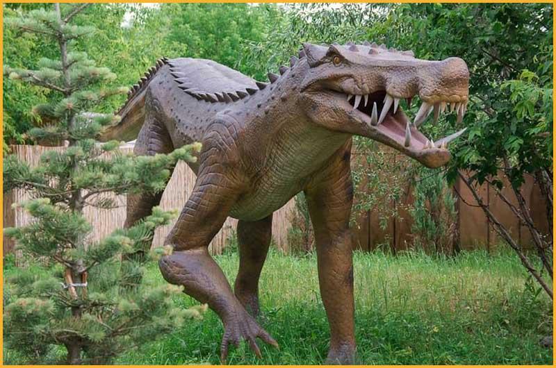 冰河世纪公园—史前巨鳄